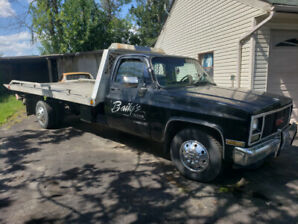 1987 Gmc Sierra 3500 454 Flat bed