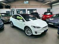 2017 Tesla Model X 75D, Pearl White, Autopilot 2, 5 Seat Suv Electric Automatic