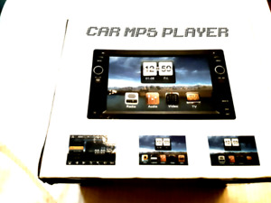 HD TOUCHSCREEN STEREO W/BACKUP CAM PORT