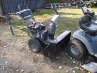 murry 10/27 and craftsman 10/29 snowblowers