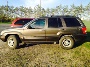 2000 Jeep Grand Cherokee SUV, Crossover as is