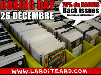 Notre fameux Boxing Day!