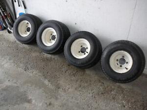 Golf Cart Tires- Set of 4