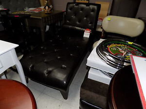 Chaise Lounge Faux Leather $ 425.00 TAX IN  727-5344 St. John's Newfoundland image 2