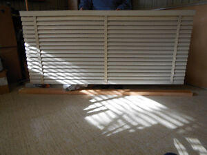Cream-Colored Blinds