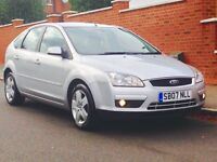 FORD FOCUS 1.6 STYLE 2007 ONLY 67K LOW MILEAGE SERVICE HISTORY MOT 3 MONTHS WARRANTY 2 OWNER CAR