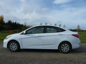 2017 Hyundai Accent Sedan  2900km  $ 8,200