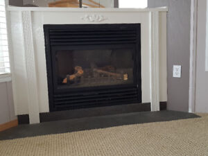 Corner Gas Fireplace for Sale!