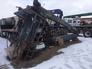 Used 2005 Heila HWR474 Articulating boom picker crane