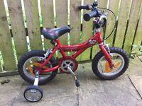 "12"" Giant Animator Bike With Stabilisers brilliant solid starter bike!"