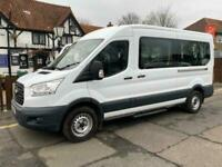 2016 16 FORD TRANSIT 2.2TDCI 410 124 BHP SWB LOW ROOF 7 SEATER DISABLED PASSENGE