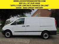 2013 63 MERCEDES-BENZ VITO 2.1 113CDI LONG LWB. VERY LOW 66,000 MILES. FSH. CLEA