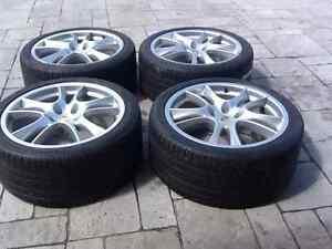 Mags original Porsche Cayenne 21 pouce avec pneus