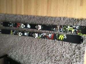 K2 Recoil skis (174cm)  w/ Marker Griffon Bindings