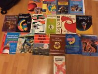 Geography revision books
