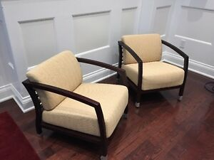 Two Armchairs from Modern Furnature Store KIOSK