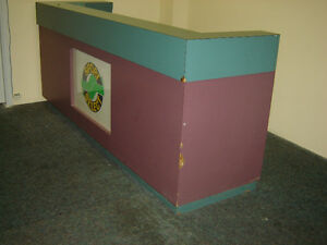 $500 · Store front Counter Made out of solid plywood and arbri Regina Regina Area image 3