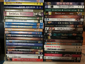 DVD Blu Ray Movies and Television Collection