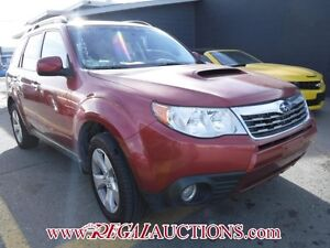 2010 SUBARU FORESTER XT LIMITED 4D UTILITY AWD XT LIMITED