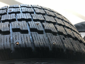 4 225/45r17 winter Cooper Weather master tires. Great tread!!