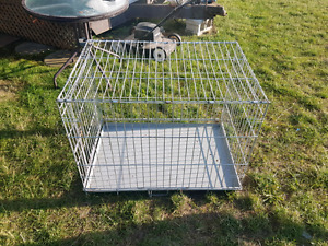 Dog cage. $60 sold