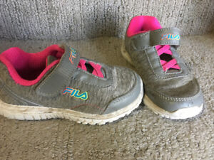 Little Girls sneakers size  9