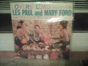 A rare Les Paul and Mary Ford LP from 1960-LOOK