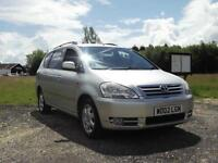 2002 02 TOYOTA AVENSIS VERSO 2.0 VVTi AUTOMATIC GLS 7 SEATER NOT COROLLA PX SWAP