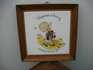 Vintage Holly Hobbie Wall Hanging