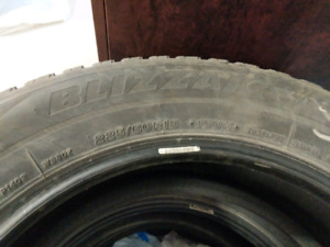 Used 225/60 R18 Bridgestone Blizzak Winter tires for sale