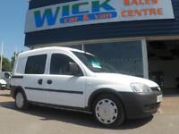 2010 Vauxhall COMBO 1.3 CDTI 5 SEATER CREWVAN *LOW MILES* Manual Crew Van