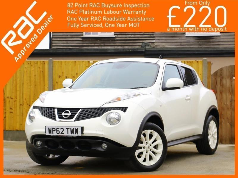2013 Nissan Juke 1.6 Ministry Of Sound 5 Speed Sat Nav Rear Cam Bluetooth Full L