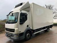 2009 59 DAF LF 45.220 euro 5 20ft fridge box Carrier supra 750 diesel freezer