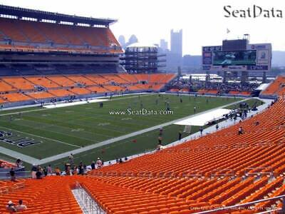 Steelers vs Houston Texans (2) Section  228  Lower Level Heinz Field