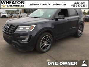 2017 Ford Explorer Sport  | Low Kms | Cooled/Heated Seats | Navi