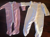 Pair of Ralph Lauren baby grows age 6 months