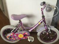 """Apollo Sweetpea 14"""" girls bike"""