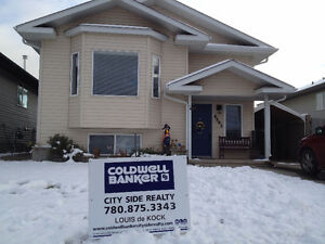 REDUCED PRICE,Finished Basement, 4 bed, 2 bath, AB Bi-Level.