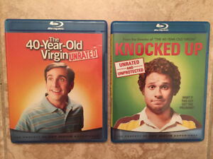 40-Year-Old Virgin + Knocked Up (Blu-ray)