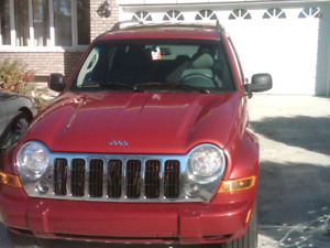 2007 Jeep Liberty Limited 6000$ WINTER TIRES INCLUDED