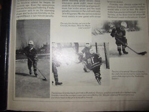 1ST Hockey Picture in the Gretzky Archives EX/NM/MT