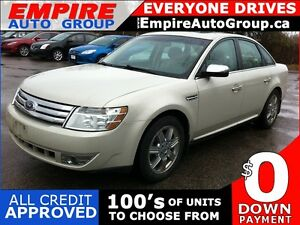 2008 FORD TAURUS LIMITED * LEATHER * SUNROOF * HEATED SEAT * BLU