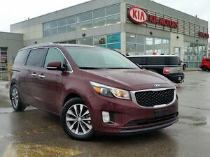 2016 Kia Sedona SX+ | LEATHER | NAVI | HEATED SEATS