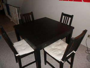 Ikea Dining Room Table and 4 Chairs