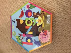 Two games - Animal Bingo / Mermaid Island Cooperative Board Game