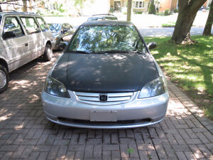 2002 Honda Civic Sedan London Ontario image 1