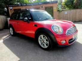 2011 MINI CLUBMAN 1.6TD ( 112bhp ) COOPER D WITH CHILI PACK IN RED