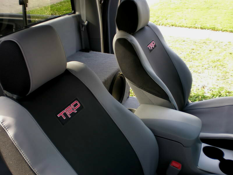 TRD SPORT SEAT COVERS TOYOTA TACOMA  TRUCK FACTORY OEM NEW 2009-2011