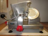 Meat and deli slicer stainless steel