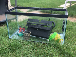 Fish tank 50L with stand